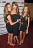 Sophia Stallone, Jennifer Flavin and Sistine Stallone 'The Expendables 2' UK Premiere held at the Empire Leicester Square London, England