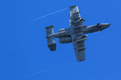 Fairchild Republic A-10C Thunderbolt II of the 442 FW from Whiteman AFB (Norman Graf) Tags: a10 a10c afrc airshow aircraft airplane cas closeairsupport fairchildrepublic geneseepark jet lakewashington plane seattleseafair thunderboltii usaf unitedstatesairforce warthog whitemanafb condensation vapor vortices wingtipvortex 10af 10thairforce 442ndfw 442ndfighterwing airforcereservecommand