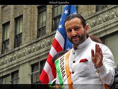 Saif Ali Khan  at the India Day Parade in NYC (Nishanth (PrintsForWalls.com)) Tags: nyc newyorkcity india parade bollywood actor independenceday madisonavenue saifalikhan indiadayparade
