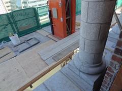 July 2012 KSS Update (29) (Seattle Department of Transportation) Tags: street plaza clock station train king planters steel taxi jackson rails restoration rehabilitation retrofit sounders toweer aamtrak sesmic