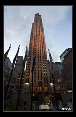 New York - GE Building #1 (M@P31) Tags: usa newyork 2012 rockfellercenter rockfellerplaza sonya77