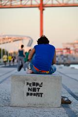 People not profit (generatorrr) Tags: trip travel people holiday portugal europa europe lisbon capitalism profit viaggio vacanza socialism lisbona portogallo peoplenotprofit peoplebeforeprofit