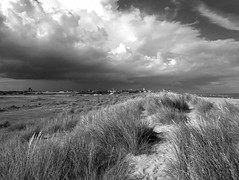 Southwold Sky (Gerry Balding) Tags: lighthouse beach grass clouds town suffolk seaside dunes shore southwold eastanglia
