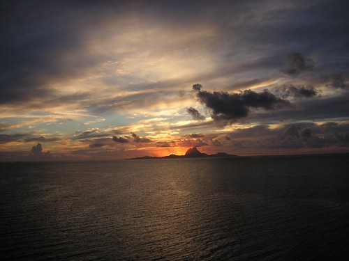 Sunset from Ti'a Moana