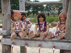 Hochsitz (Kindergartenkinder) Tags: dolls sommer kindra tivi setina annettehimstedt kindergartenkinder himstedtkinder sanrike naturbadolfen