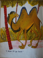 The Camel Who Took a Walk (krakencrafts) Tags: animal illustration camel jungle childrensbook midcentury rogerduvoisin jacktworkov thecamelwhotookawalk