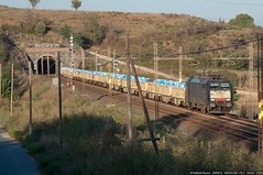 Grazie Beatrice! (Raffaele Russo (LeleD445)) Tags: railroad train siemens cargo 64 es f4 trainspotting cfi bombardier terni traxx spotter tyssen railfans mrce e189 displook