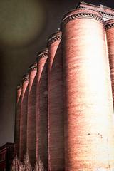 The Haunted Towers ii (Eric Baggett) Tags: red brick architecture alone ominous stlouis creepy stl lemp lempbrewery photographyasart hauntedtowers fantasyartphotography ericbaggett childhoodreverb everydayfantasy digitaltodrawing