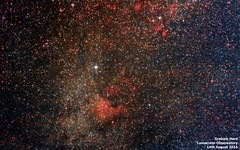 Deneb, Sadr and North America Nebula (grahamxx) Tags: deepsky deneb north america nebula sadr cygnus 1100d canon astrometrydotnet:id=nova1688925 astrometrydotnet:status=solved