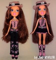 Bratz Wild Wild West Dana Restyle (JadeBratz18) Tags: bratz passion4fashion passion fashion fashiondoll doll dolls wild west dana jadebratz18 itsgoodtobearealbratz dollover