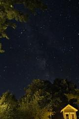 Milky Way 1689 (Paul Klekotta) Tags: walloon lake michigan northern milky way night long exposure stars 1914 hemming ernest hobeywood