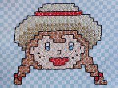 4 (AneloreSMaschke) Tags: bordado tecido xadrez artesanato menina caipira handmade