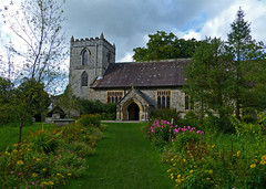 Kettlewell, North Yorkshire, St Mary's (Tudor Barlow) Tags: kettlewell northyorkshire england churches parishchurch listedbuilding gradeiilistedbuilding autumn lumixfz200