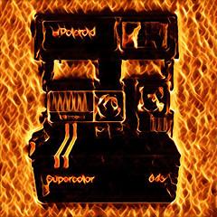Polaroid SuperColor 645 (Leo Reynolds) Tags: xleol30x vinci camera polaroid fire flame groupeffectedcameras