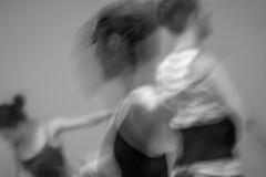 The Dancers (ScarletBlack) Tags: amyhamiltondance amyhamiltondancearts photoimpressionism dance dancers ballet motionblur monochrome blackandwhite people