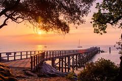 Morning mood! (jochen.bogomiehl) Tags: sunrise colorful sea noirmoutier meer pier sonnenaufgang summer sommer landscape morning mood nikon d7100 hdr
