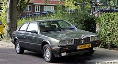 Maserati Biturbo 1985 (XBXG) Tags: gshf41 maserati biturbo 1985 maseratibiturbo coup coupe v6 haarlem nederland holland netherlands paysbas vintage old classic italian car auto automobile voiture ancienne italienne italy italie italia itali