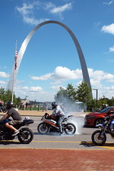 DSCF3548 (dishfunctional) Tags: st louis arch courthouse jefferson expansion memorial nps national park motorcycle