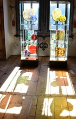 (Gerlinde Hofmann) Tags: germany thuringia town schmalkalden handmade glass shadow floor castle modernglass schlosswilhelmsburg wilhelmsburgcastle museum
