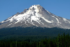 Mount Hood (Livetoday_official) Tags: mountain mounthood oregon usa green sky forest trees blue white snow shade canon canon70d 85mm landscape