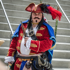Captain Morgan (misterperturbed) Tags: baltimore baltimorecomiccon2016 baltimoreconventioncenter baltimorecomiccon captainmorgan