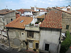 View from Amphitheatre (AmyEAnderson) Tags: buildings historic rooftops reds arles france provence bouchesdurhone neighborhood