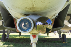 DSC00035 (HeyItzDucky) Tags: airplane museum retired out comission american america fort worth texas jet jets crafts helicoptors helicoptor engine black white old vintage classic aeroplanes steel iron aluminium aluminum rudder history wide panoramic panorama gilded gild propellor