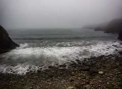 Sea Fog (Maggie's Camera) Tags: beachfog fog beachy foggy evening dusk sunset wales september 2016 sea seascape colour