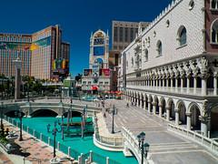 The Venetian (tubblesnap) Tags: the venetian hotel las vegas sunny sky polarizer polariser strip holiday