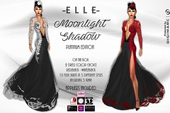 -E L L E- Moonlight Shadow - Platinum Edition (AdelleBelle) Tags: elle mesh body applier omega tmp belleza slink maitreya formal elegant evening dress long platinum group special edition second life sl