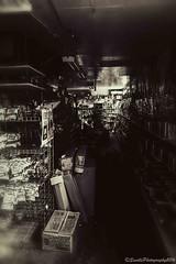 The Waiting Game (savillent) Tags: black white mono old ghost machine dark nikon d800 24 70mm photography arctic commercial tuktoyaktuk saville northwest territories canada september 2016