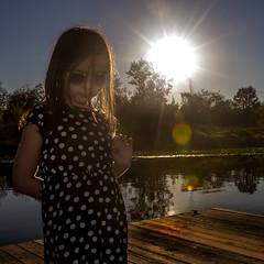 burnaby stars a (everettnewman1971) Tags: burnabylake canada portrait sunstar lensflare