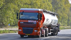 15-BBL-6 (panmanstan) Tags: daf xf wagon truck lorry commercial tanker freight transport haulage vehicle a63 southcave yorkshire