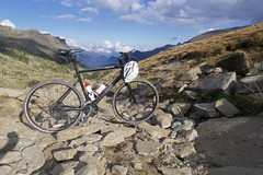 Bumpy Road (will_cyclist) Tags: aosta bumpy champorcher cycling dam lake miserin