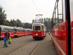 Tram type N, #1100, Tramwaje lskie (transport131) Tags: tram tramwaj bdzin t kzk gop n sgp e1 zajezdnia depot