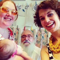 Selfie avec Thomas et Marie (LookingforJanis) Tags: crowdfunding book signing drawing people janisjoplin ddicace dessin selfie