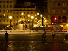 Night in Trastevere (JLL85) Tags: rome roma italia italy trastevere night exposure exposicion calle street luz light travel viaje