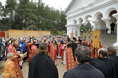 27. Престольный праздник в Святогорске 30.09.2016