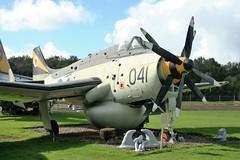 XL497 Fairey Gannet AEW.3 (Grumman G1159) Tags: xl497 fairey faireygannetaew3 no849nas rn royalnavy aew airborneearlywarning f9456 cnf9456 msnf9456 dumfriesgallowayaviationmuseum