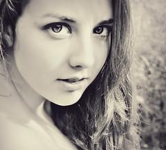 Kaylan (Taylor Daniels Photography) Tags: summer woman nature girl effects intense model eyes photograph stare editing 2012