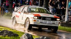 Audi at Midnattssolsrallyt 2012