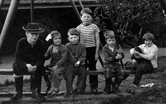 Harrogate National Children's Home (theirhistory) Tags: boy england hat cowboy play sandals tshirt orphanage bow trousers dungarees wellies nch childrenshome ncho nationalchildrenshome