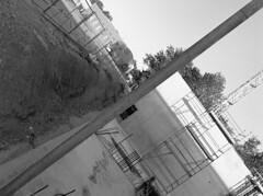 CERN overground (philipp eller) Tags: mamiya kodak trix 400 1000s xtol m645