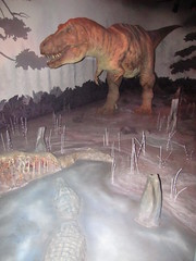 Animatronic T rex at Natural History Museum (maineexile) Tags: london naturalhistorymuseumlondon