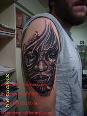 Artistic face tattoo / Sanatsal yz dvme (taksim beyolu dvmeci) Tags: woman art tattoo artist femme models drawings istanbul tattoos taksim examples vrouwen tatouage bayan mannen kiz modle modelleri dovme izimler dovmeciler taksimdovme dovmemodelleri dovmesi