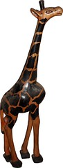 Giraffe (Art D'Afrique) Tags: africa wood art statue artwork gambia giraffe thick bois 2012 girafe afrique epais gambie