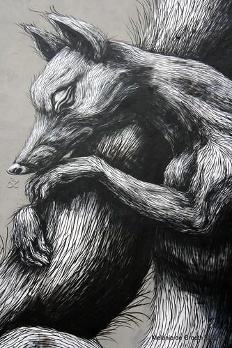 Graffiti by ROA 2
