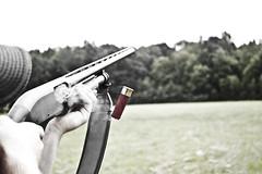 Remington 870 (djbigley) Tags: motion gun slow shell shotgun