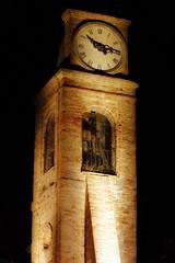 Fiorenzuola di Focara (glauco's & antonella's) Tags: torre ora orologio notturno campane fiorenzuoladifocara glaucos
