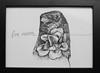 Cria Cuervos (TURKESA (old profile)) Tags: flower design drawing crow cuervo cria turkesa